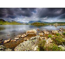 Rannoch Moor  Scotland Photographic Print