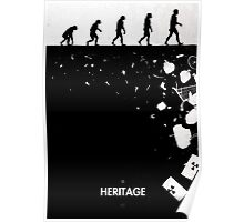 99 Steps of Progress - Heritage Poster