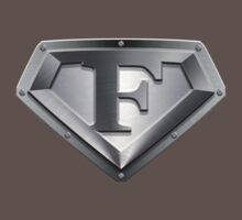 Steel Plated F Letter by adamcampen