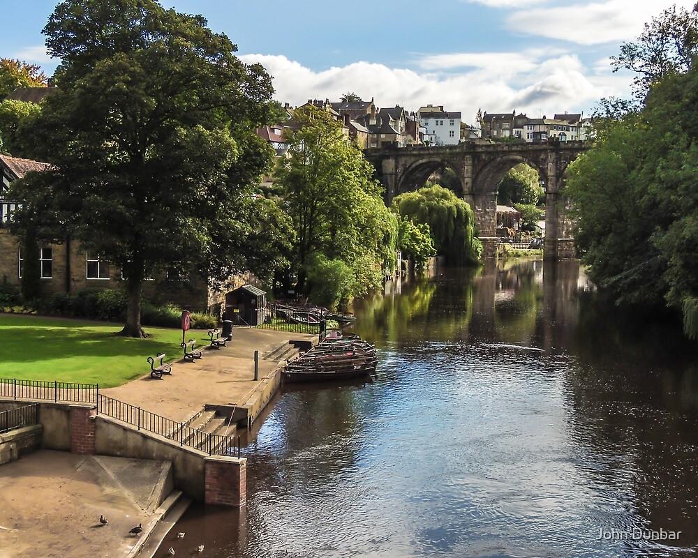 River Nidd at Knaresborough by John Dunbar