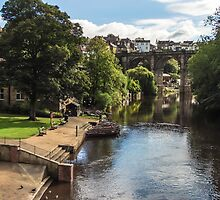 River Nidd at Knaresborough by John Dunbar