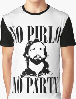 No Pirlo, No Party v2 Graphic T-Shirt