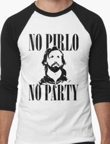 No Pirlo, No Party v2 Men's Baseball ¾ T-Shirt