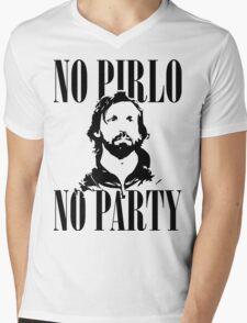 No Pirlo, No Party v2 Mens V-Neck T-Shirt