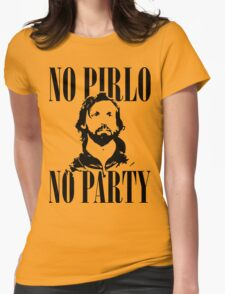 No Pirlo, No Party v2 Womens Fitted T-Shirt