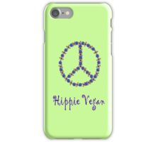Hippie Vegan iPhone Case/Skin