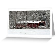 Covered Bridges Greeting Card