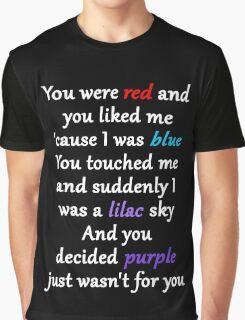 Halsey Colors Lyrics Graphic T-Shirt
