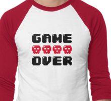 Game Over Men's Baseball ¾ T-Shirt