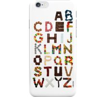 Candy Alphabet iPhone Case/Skin
