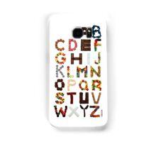 Candy Alphabet Samsung Galaxy Case/Skin