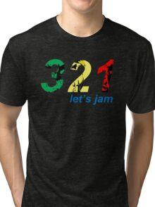 321...let's jam Tri-blend T-Shirt