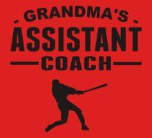 Grandma's Assistant Baseball Coach Baby Tee