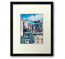 Paris, Ordener Str. Framed Print