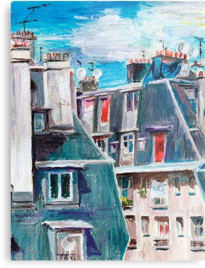 Paris, Ordener Str. by Tatiana Ivchenkova
