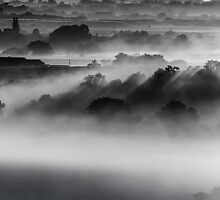 Drifting Morning Mist by John Dunbar