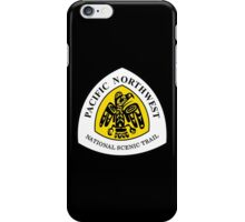 Pacific Northwest Trail Sign, USA iPhone Case/Skin