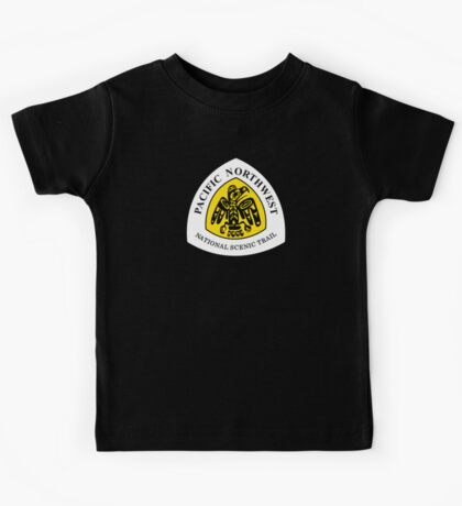 Pacific Northwest Trail Sign, USA Kids Tee