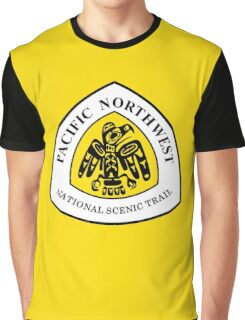 Pacific Northwest Trail Sign, USA Graphic T-Shirt