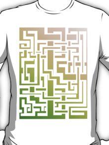 Abstract Nature Labirint T-Shirt