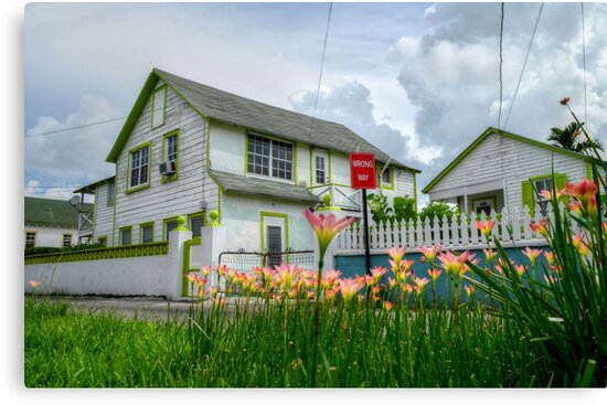 House on Sears Street in Nassau, The Bahamas by Jeremy Lavender Photography