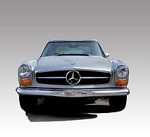 1970 280SL COLOR by Thomas Barker-Detwiler