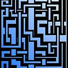 Abstract Sky Labirint by Rastaman