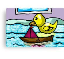 BATH TIME  FUN  Canvas Print