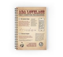 Ada Lovelace: First Computer Programmer Spiral Notebook