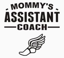Mommy's Assistant Track Coach One Piece - Long Sleeve