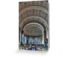 Boston Public Library  Greeting Card