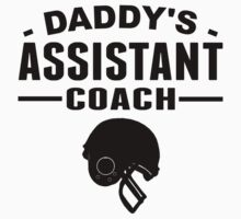 Daddy's Assistant Football Coach Kids Clothes