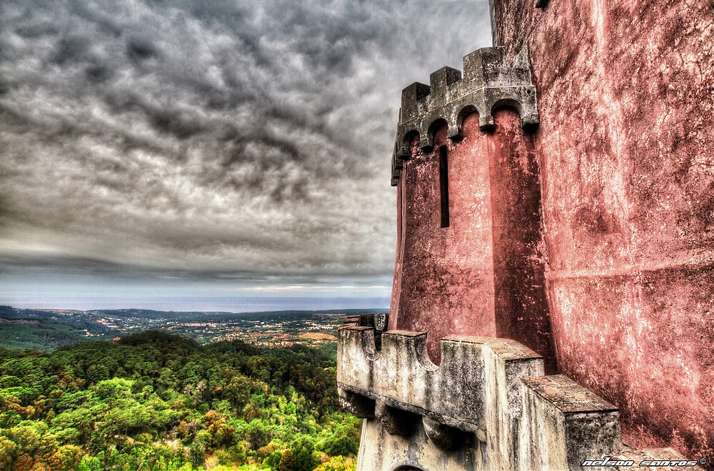 The Pena National Palace, Sintra - Portugal VIII by NSantos