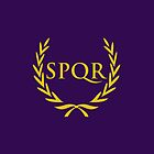 SPQR iPhone Case by Alexandra Grant