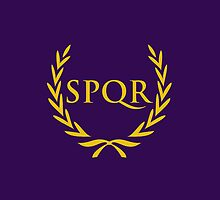 SPQR iPhone Case by alexandramarieg