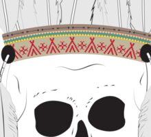 Thin Skin - Skull Headdress Sticker