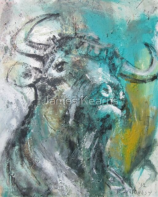 Green Bull by James Kearns