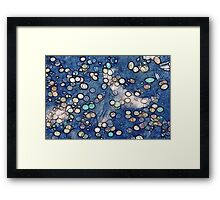 Kathie McCurdy Coins in the Fountain Abstract Framed Print