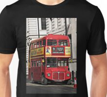 Vintage Red London Bus Unisex T-Shirt