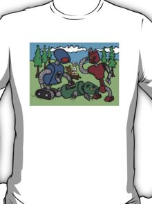 Teddy Bear And Bunny - Cannibals T-Shirt