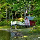 The Boathouse II by Monica M. Scanlan