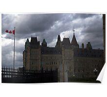 Ottawa Canada Parlament Building Poster