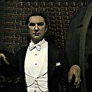 Bela Lugosi as Dracula (Wax Figure at Madame Tussaud's) by Jane Neill-Hancock