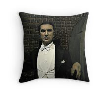 Bela Lugosi as Dracula (Wax Figure at Madame Tussaud's) Throw Pillow