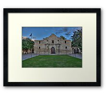 Mission San Antonio de Valero (The Alamo) Framed Print