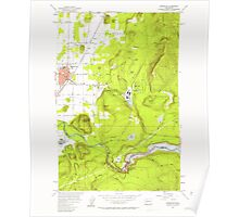 USGS Topo Map Washington State WA Enumclaw 241070 1956 24000 Poster