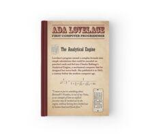 Ada Lovelace: First Computer Programmer Hardcover Journal