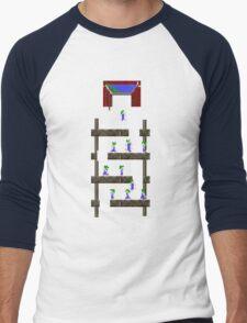 Lemmings #02 Men's Baseball ¾ T-Shirt