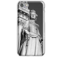 Queen Anne 1 B&W iPhone Case/Skin