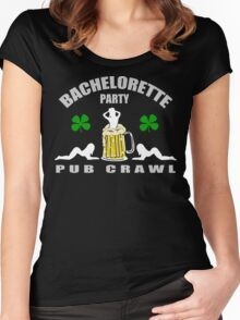 Irish Bachelorette Party Women's Fitted Scoop T-Shirt